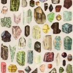 Amber Ibarreche, Gems, 8x5x11, Mixed Media,