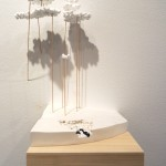 James Reeder, Lakeside, 2011, plaster, wood, wax,  styrofoam, 8.5x20x11in
