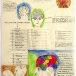 Christina Mazzalupo, Phrenology: A Study, 12x18, Watercolor and Graphite on Tissue Paper, Private Collection